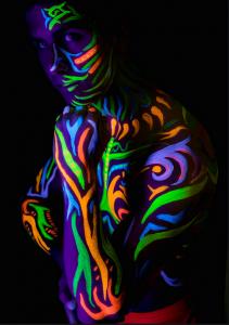 blacklight body paint
